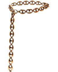 Balenciaga - Exaggerated Chain Belt - Lyst