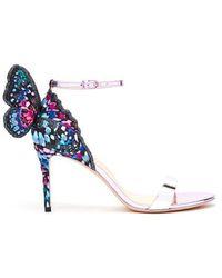 Sophia Webster - Chiara Butterfly-wing Leather Sandals - Lyst