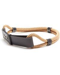 Roksanda | Leather-trimmed Rope Waist Belt | Lyst