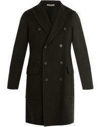 Bottega Veneta | Peak-lapel Double-faced Cashmere Coat | Lyst