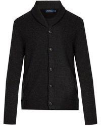 Polo Ralph Lauren - Shawl Collar Merino Wool Cardigan - Lyst