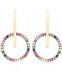 Ana Khouri - Brigid 18kt Gold & Sapphire Earrings - Lyst