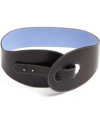 Roksanda | Contrast-stitch Leather Waist Belt | Lyst