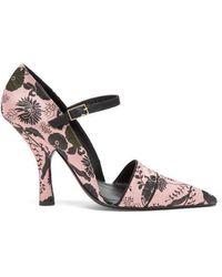 Erdem - Mya Mary-jane Court Shoes - Lyst