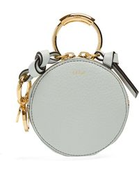 Chloé - Round-mini Leather Coin Purse - Lyst
