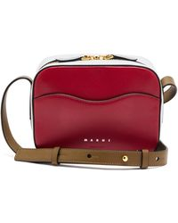 Marni - Shell Small Leather Shoulder Bag - Lyst