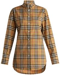 Burberry - Starling Cotton Shirt - Lyst