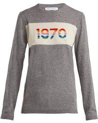 Bella Freud - 1970 Cashmere Blend Sweater - Lyst