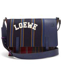 Loewe - Sacoche Varsity - Lyst