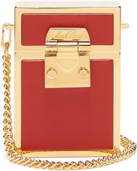 Mark Cross - Nicole Leather And Gold Plated Cross Body Bag - Lyst