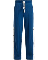 Burberry - Sungi Wide Leg Trousers - Lyst