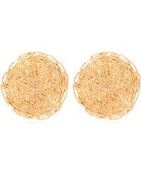 Chloé - Braided Strand Earrings - Lyst