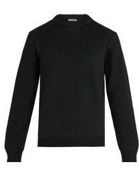 Lanvin - Ribbed-knit Crew-neck Jumper - Lyst