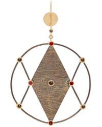Ara Vartanian | X Kate Moss Diamond, Ruby & Gold Earring | Lyst