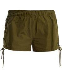 The Upside - Fiesta Cotton-blend Shorts - Lyst