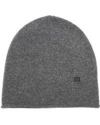 Acne Studios - Ribbed-knit Wool Beanie Hat - Lyst