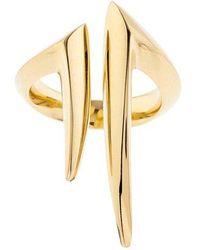 Shaun Leane - Yellow-gold Split Ring - Lyst