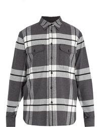 Rag & Bone - Jack Checked Cotton-flannel Shirt - Lyst