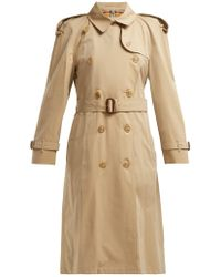 Burberry - Westminster Gabardine Trench Coat - Lyst