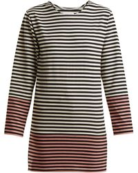 MYAR - Striped Cotton Jersey T Shirt - Lyst