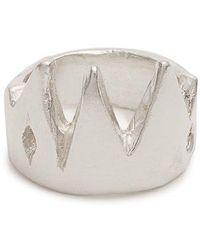 Aris Schwabe - King Sterling-silver Ring - Lyst