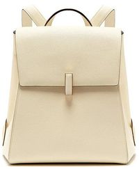 Valextra - Iside Saffiano-leather Backpack - Lyst