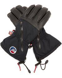 Fusalp - Deneriaz Leather-panelled Ski Gloves - Lyst