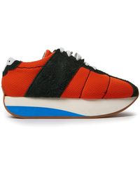Marni - Mesh And Suede Low Top Trainers - Lyst
