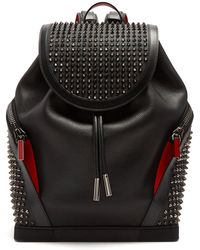 Christian Louboutin - Explorafunk Spike Embellished Backpack - Lyst