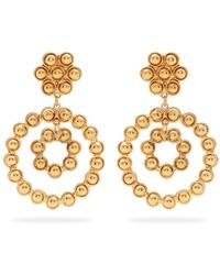 Sylvia Toledano | Flower Candies Gold-plated Clip-on Earrings | Lyst