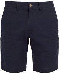 Polo Ralph Lauren - Straight Leg Cotton Blend Chino Shorts - Lyst