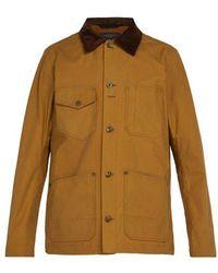 Rag & Bone - Chore Contrast-panel Cotton Jacket - Lyst