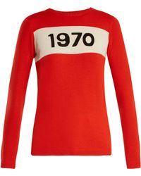 Bella Freud - 1970 Wool Sweater - Lyst