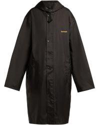 Vetements - Unicorn Hooded Raincoat - Lyst