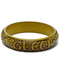 Gucci - Crystal Embellished Tennis Bracelet - Lyst