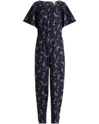 Rebecca Taylor - Francine Floral-print Jumpsuit - Lyst