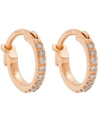 Ileana Makri - - Diamond & Rose Gold Earrings - Womens - Rose Gold - Lyst