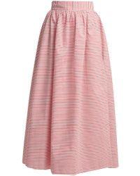 Mara Hoffman - Katrine Cabana-stripe Skirt - Lyst