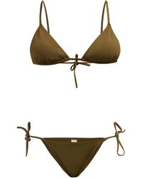 Eres - Mouna + Malou Triangle Bikini Set - Lyst
