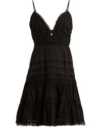Zimmermann - Iris Lace-insert Camisole Dress - Lyst