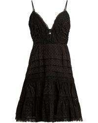 Zimmermann - Iris Lace Insert Camisole Dress - Lyst