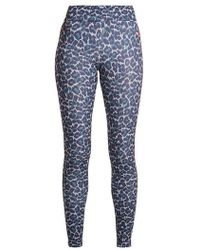 Laain - Tamara Leopard-print Compression Leggings - Lyst