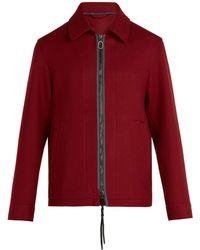 Lanvin - Zip-fastening Wool Jacket - Lyst