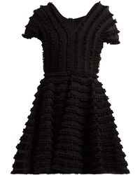 Emilio de la Morena - Zelda Ruffled Cocktail Dress - Lyst