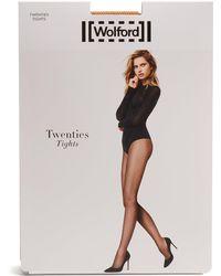 Wolford - Twenties Micro-net Tights - Lyst