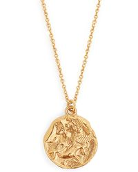 Alighieri - Capricorn Gold Plated Necklace - Lyst