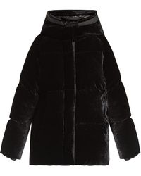 Moncler - Butor Velvet Down-filled Jacket - Lyst