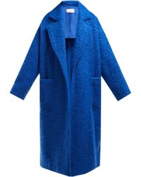 Raey - Dropped Shoulder Wool Blend Blanket Coat - Lyst