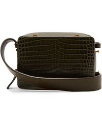 Lutz Morris - Maya Crocodile Effect Leather Cross Body Bag - Lyst