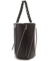 Proenza Schouler - Hex Medium Leather Bucket Bag - Lyst